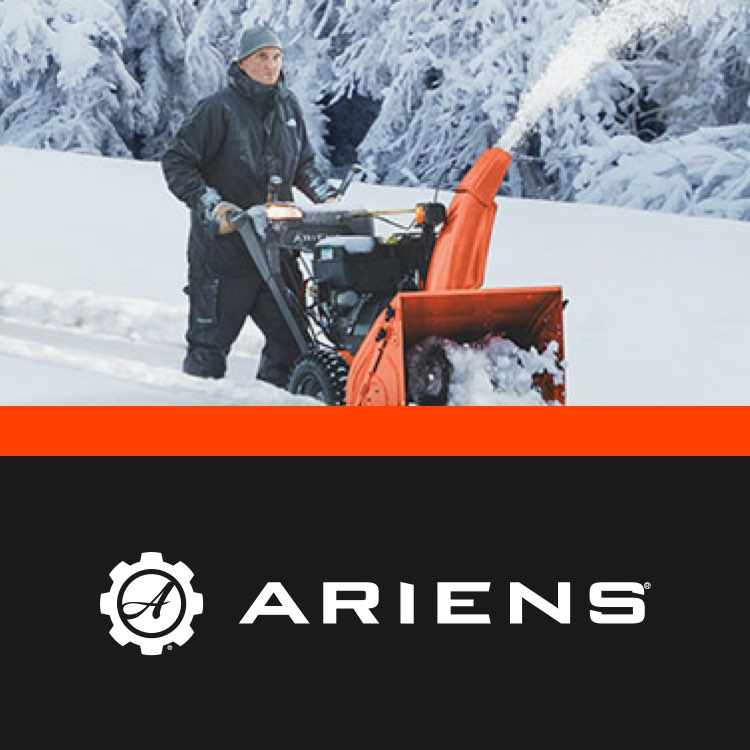More about Ariens snowblowers at Jeds
