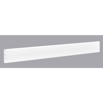 Outdoor Essentials 2 In. x 6 In. x 192 In. White Vinyl Fence Rail