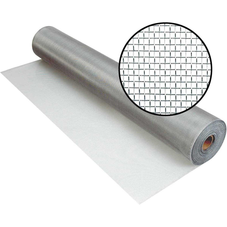 Phifer 60 In. x 100 Ft. Brite Aluminum Screen Image 1