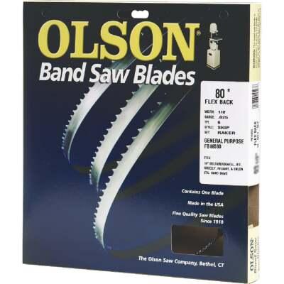 Olson 80 In. x 1/8 In. 14 TPI Regular Flex Back Band Saw Blade