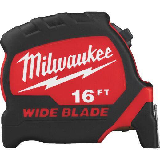 Milwaukee 16 Ft. Wide Blade Tape Measure