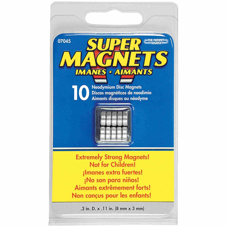 Master Magnetics .315 in. Neodymium Disc Magnet (10-Pack) Image 2