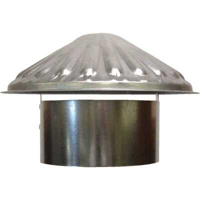 S & K Galvanized Steel 5 In. x 9-1/2 In. Vent Pipe Cap