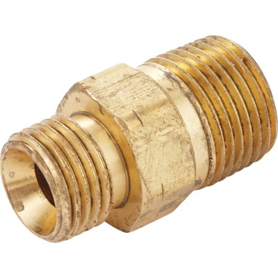 MR. HEATER 3/8 In. MPT x 9/16 In. LHMT Brass Male Pipe Fitting