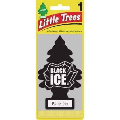 Little Trees Car Air Freshener, Black Ice