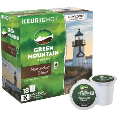 Keurig Green Mountain Natucket Full Hearty Coffee K-Cup (18-Pack)