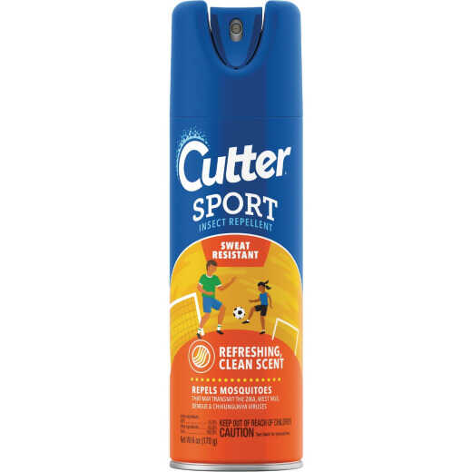 Cutter Sport 6 Oz. Insect Repellent Aerosol Spray