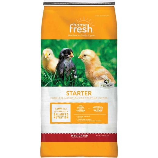 Blue Seal Home Fresh Chicken Starter 25 Lb. Chicken Feed
