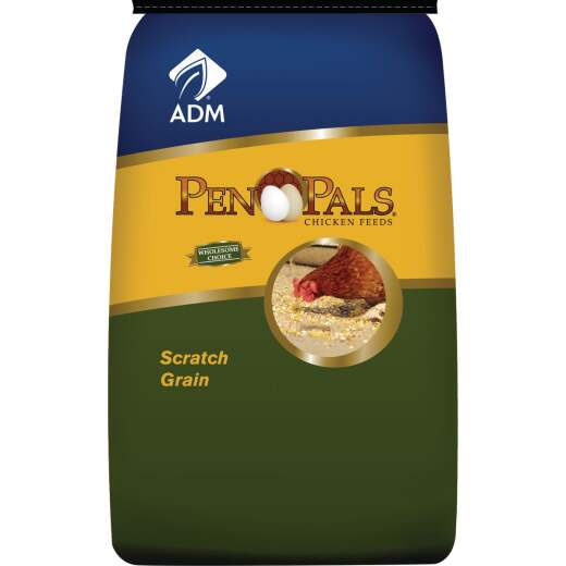 ADM Pen Pals 50 Lb. Scratch Grain Chicken Feed