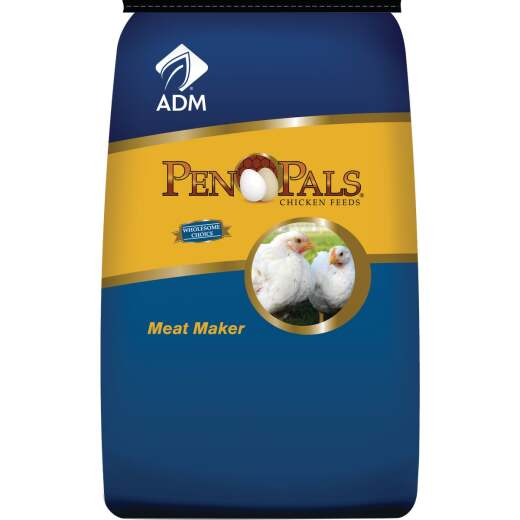 ADM Pen Pals 50 Lb. Meat Maker Chicken Feed
