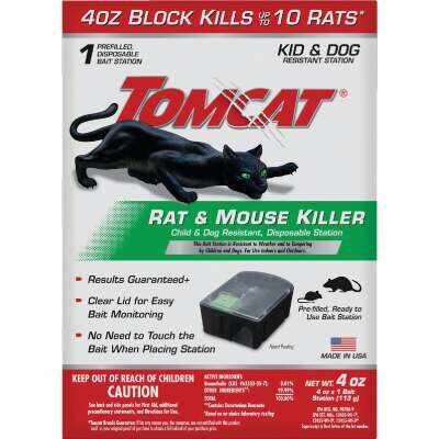 Tomcat Disposable Rat & Mouse Bait Station (1-Pack)