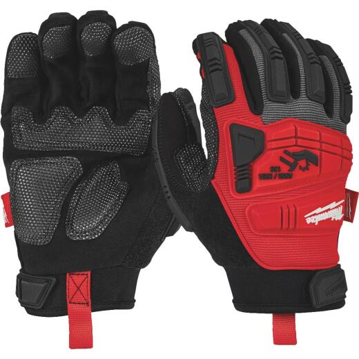 Milwaukee Men's XL Synthetic Leather Impact Demolition Glove