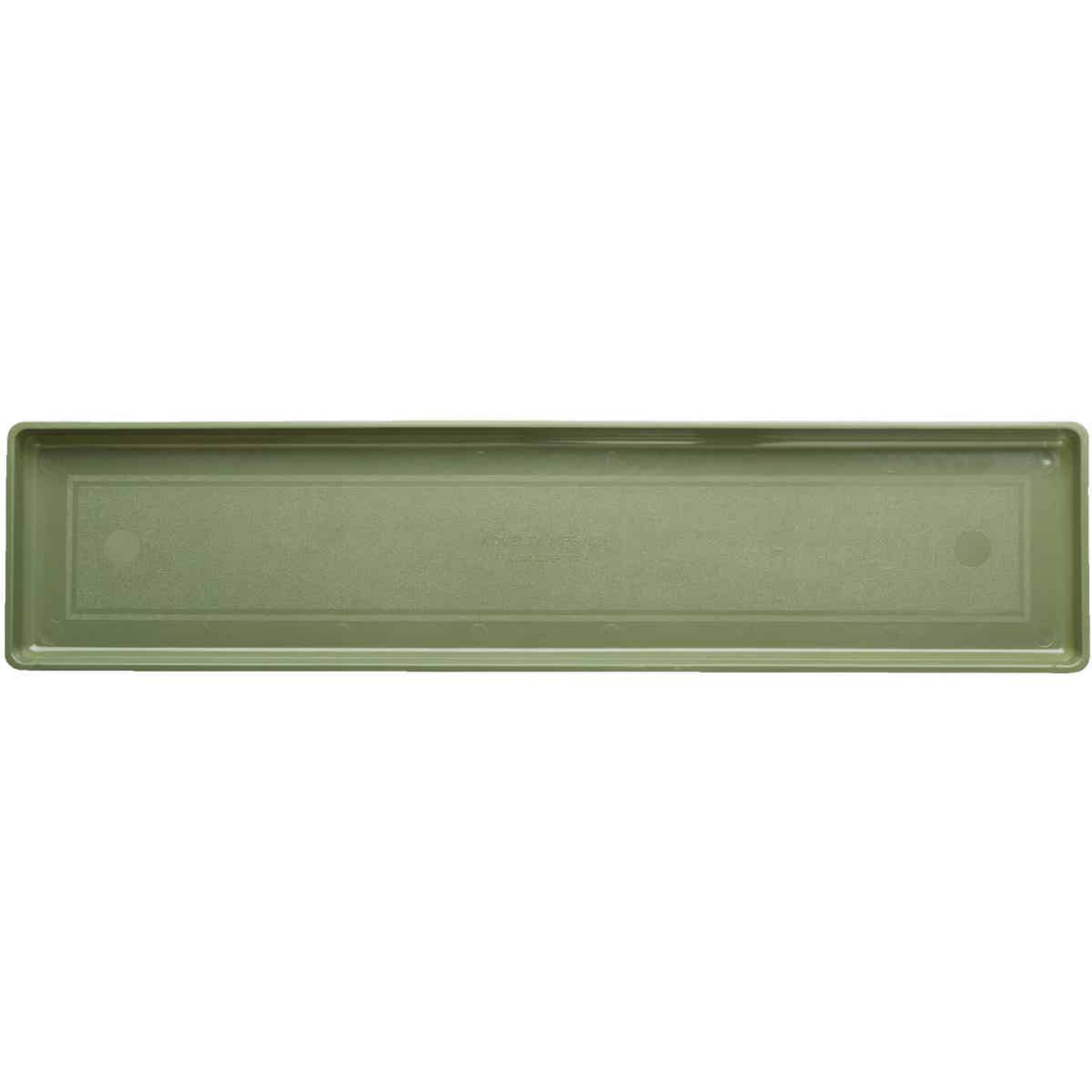 Novelty 32-3/8 In. Sage Plastic Flower Box Tray Image 1