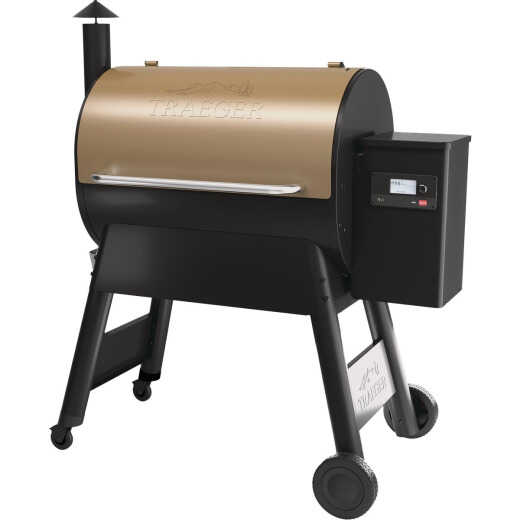 Traeger Pro 780 Bronze 36,000 BTU 780 Sq. In. Wood Pellet Grill
