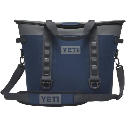 Yeti Hopper M30 Navy Soft-Side Cooler (20-Can)