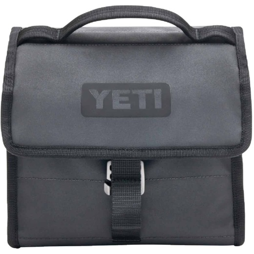 Yeti 6-Can Charcoal 8.75 In. x 5.75 In. x 8.75 In. Soft-Side Cooler
