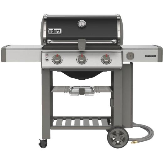 Weber Genesis II SE-310 3-Burner Black 39,000-BTU Natural Gas Grill