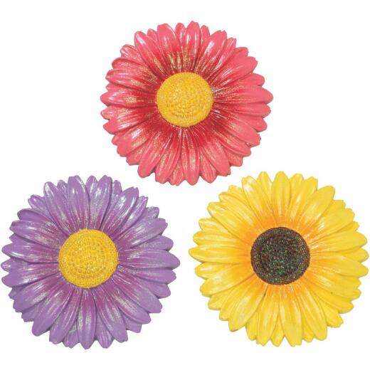 Gerson Spring GIL 10 In. Cement Flower Stepping Stone